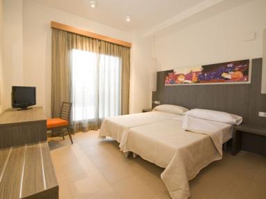 Dormitorio Habitación Doble Alcocebre Suites Hotel