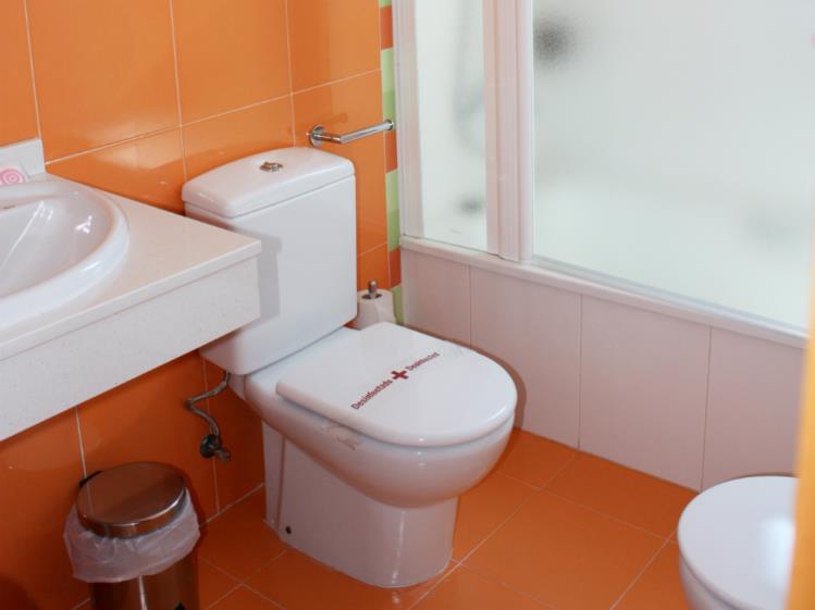 Baño Suite Superior Alcocebre Suites Hotel