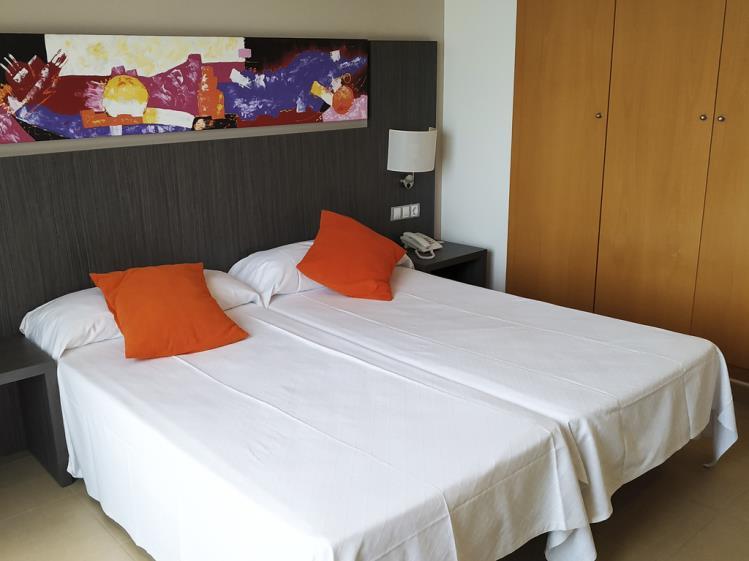 Dormitorio Suite Superior Alcocebre Suites Hotel