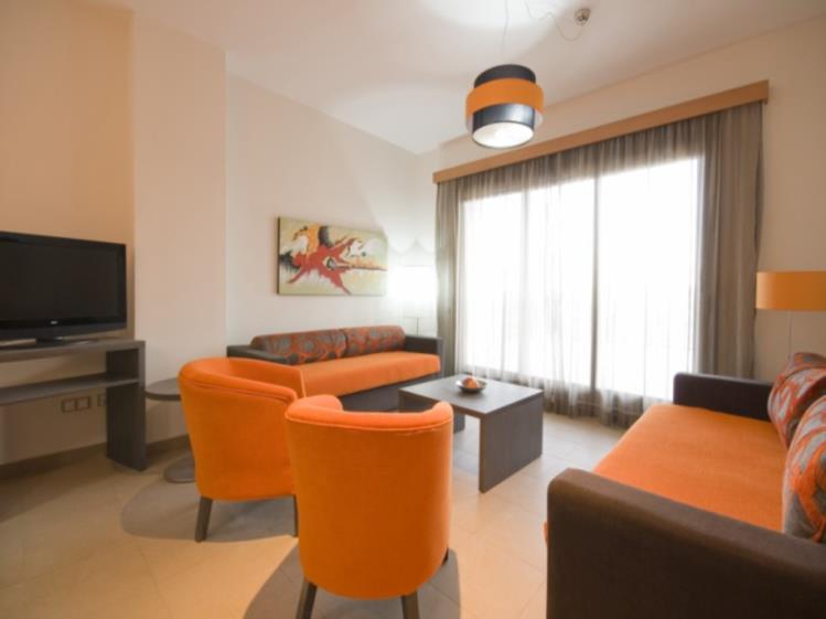 Salón Suite Superior Alcocebre Suites Hotel