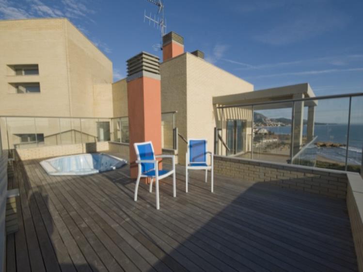 Terraza Suite Superior Alcocebre Suites Hotel