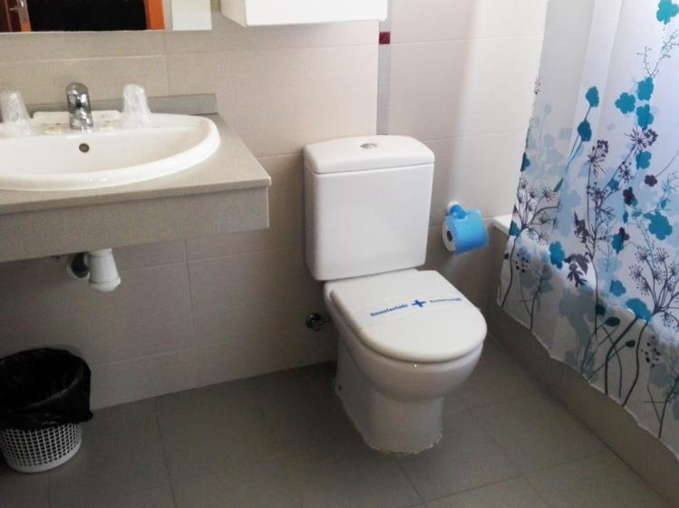 Baño Apartamento 1 dormitorio (2-4 personas) Alcocebre Suites Hotel
