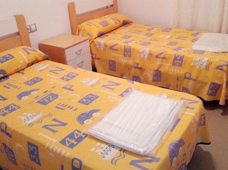 Dormitorio Apartamento 1 dormitorio (2-4 personas) Alcocebre Suites Hotel