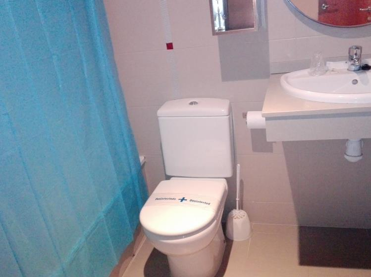 Baño Apartamento 2 dormitorios (4-6 personas) Alcocebre Suites Hotel