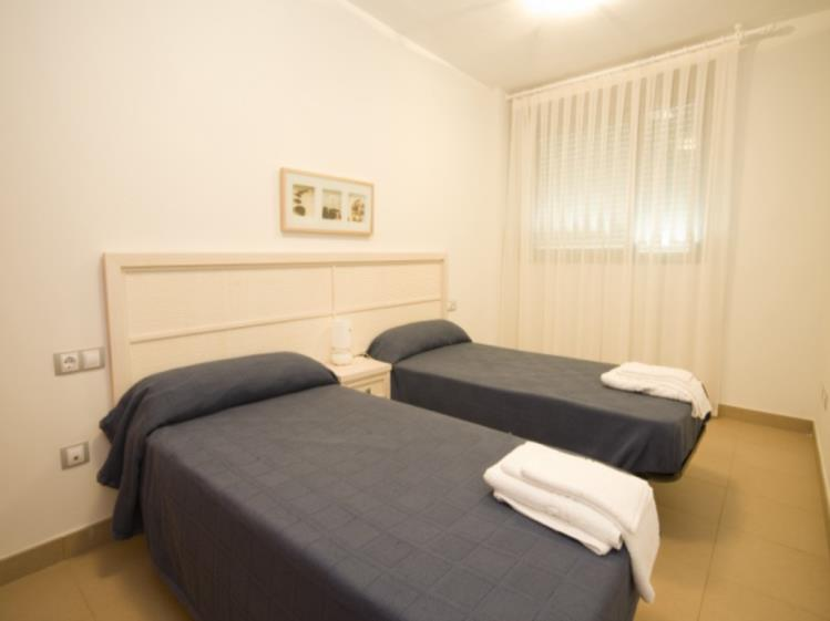 Dormitorio Apartamento 2 dormitorios (4-6 personas) Alcocebre Suites Hotel