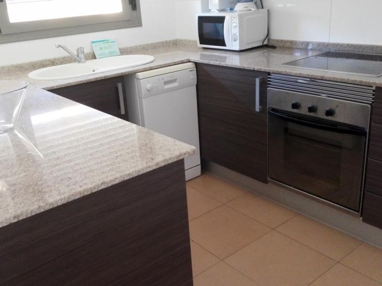 Cocina Apartamento 3 dormitorios (6-8 personas) Alcocebre Suites Hotel