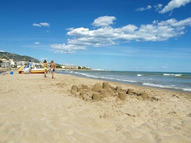 Arena de la playa  Costa Azahar Alcoceber