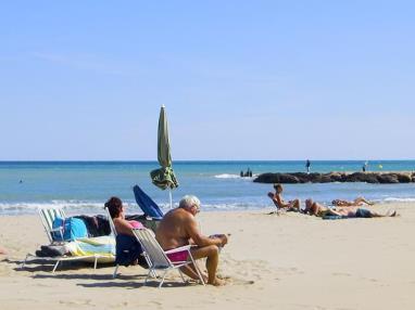 Descanso en la playa  Costa Azahar Alcoceber