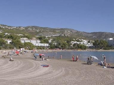 Panorámica de la playa  Costa Azahar Alcoceber