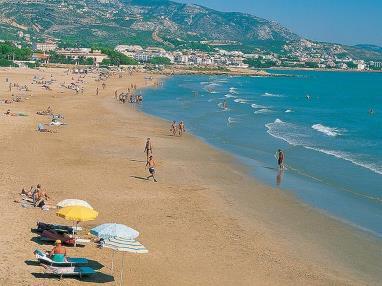 Vistas de la playa  Costa Azahar Alcoceber